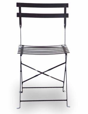 Μεταλλική καρέκλα πτυσσόμενη για εξωτερικό χώρο Σιδερένια κατασκευή με ηλεκτροστατική βαφή.