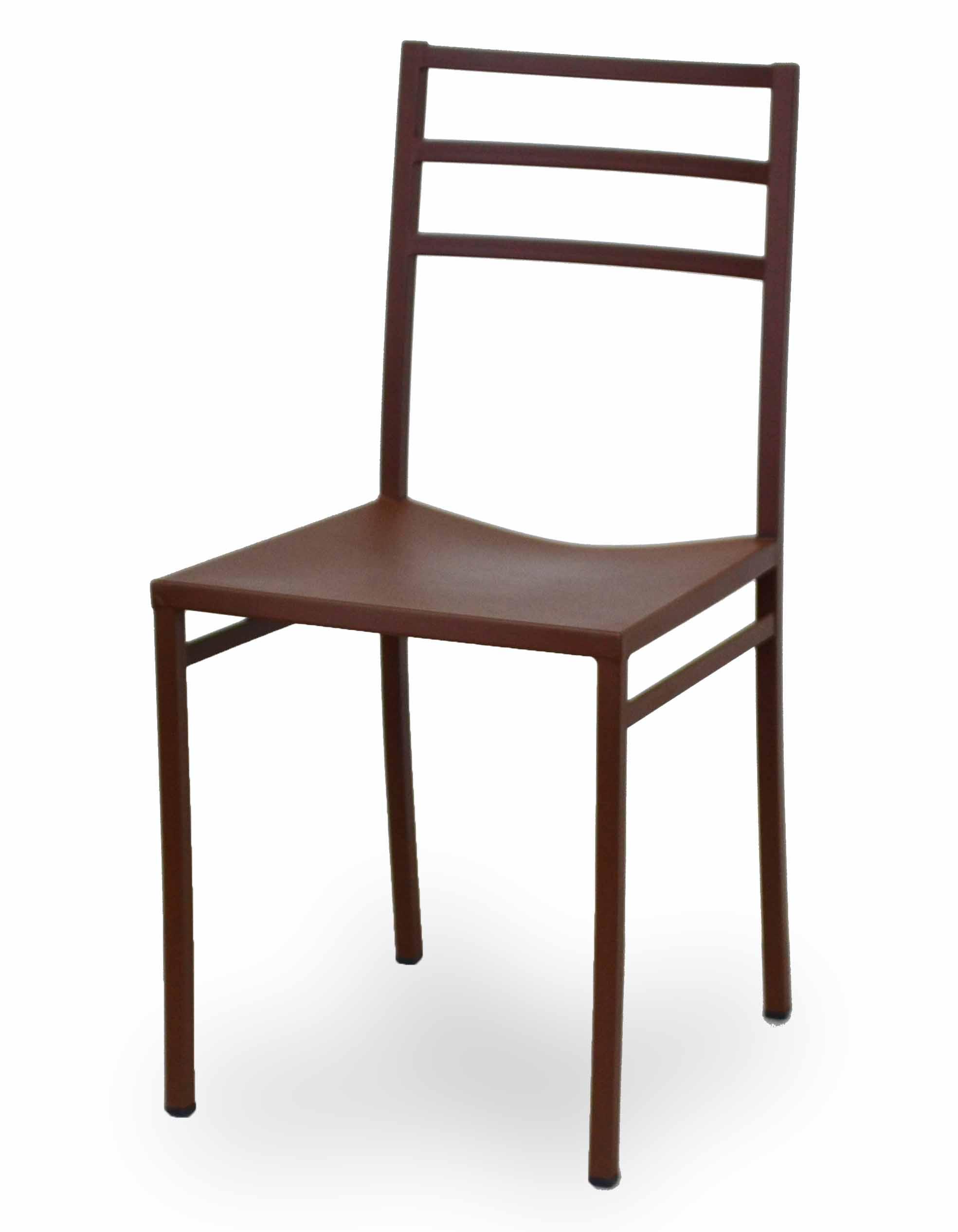 Μεταλλική καρέκλα   με ηλεκτροστατική βαφή στο χρώμα της επιλογής σας