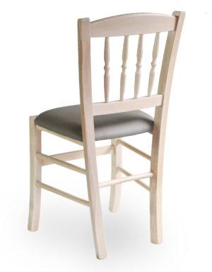 Ξύλινη καρέκλα καφενείου ιδανική για εσωτερικό αλλά και εξωτερικό χώρο σε οποιοδήποτε απόχρωση. Το κάθισμα μπορεί να είναι ψάθα, ξύλο, δερμάτινη ή ύφασμα Διαστάσεις: ύψος 87cm –  πλάτος 41cm – μήκος 44cm