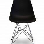 Καρέκλα για εσωτερικό χώρο  Μεταλλική βάση και κάθισμα και πλάτη απο πλαστικό