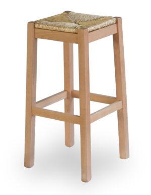 Ξύλινο σκαμπό χωρίς πλατή Μπορεί να γίνει στο ύψος και στο χρώμα της επιλογής σας!