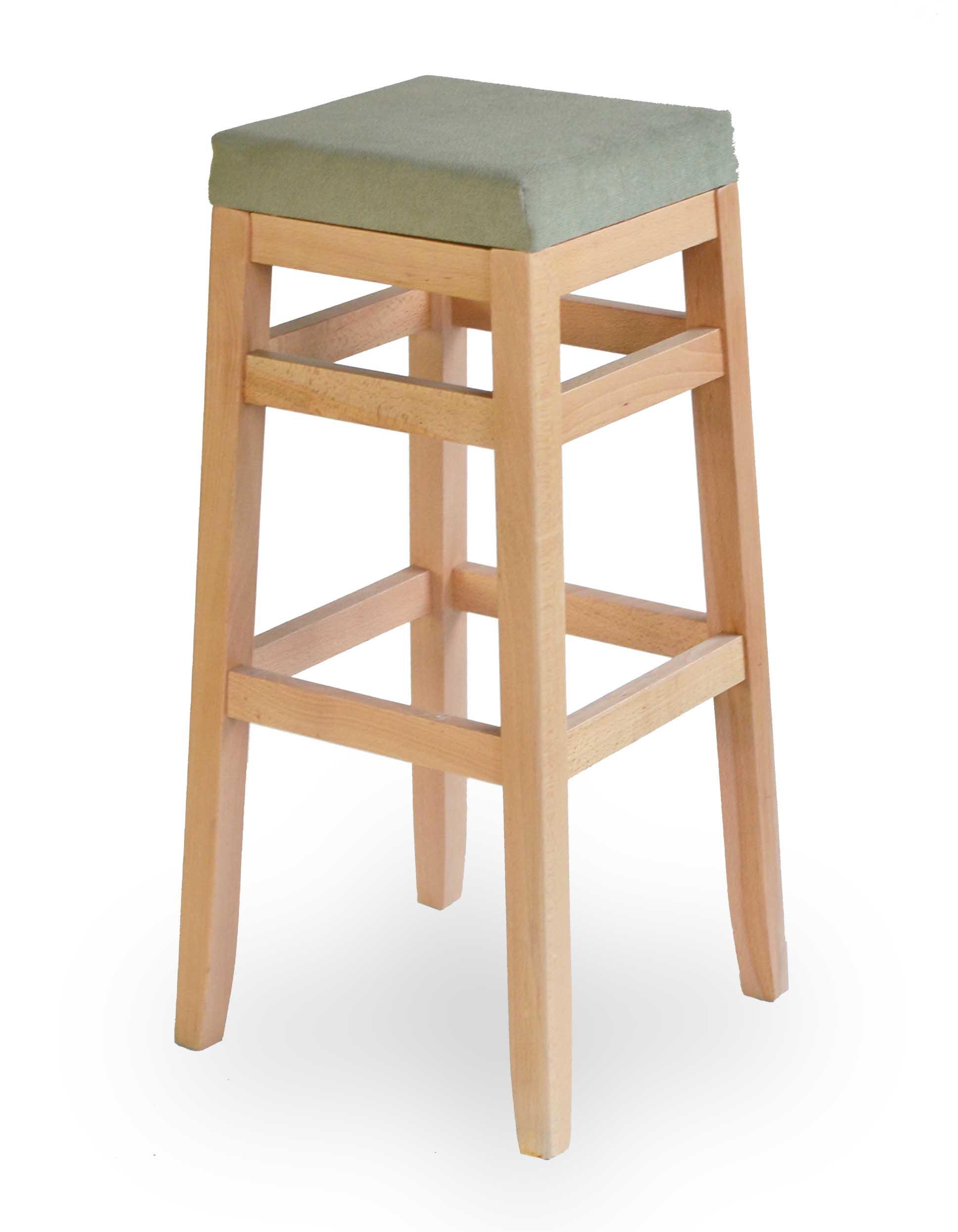 Ξύλινο σκαμπό χωρίς Πλατή. Μπορεί να γίνει στο ύψος και στα χρώματα της επιλογής σας!