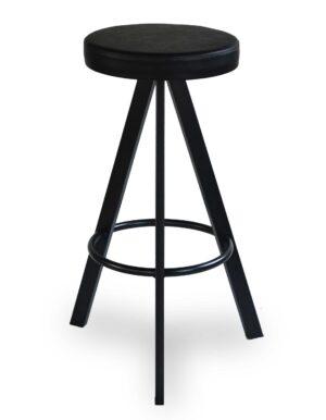Μεταλλικό σκαμπό Στο ύψος και στα χρώματα της επιλογής σας Το κάθισμα μπορεί να είναι από δερματίνη, ύφασμα η ξύλο!