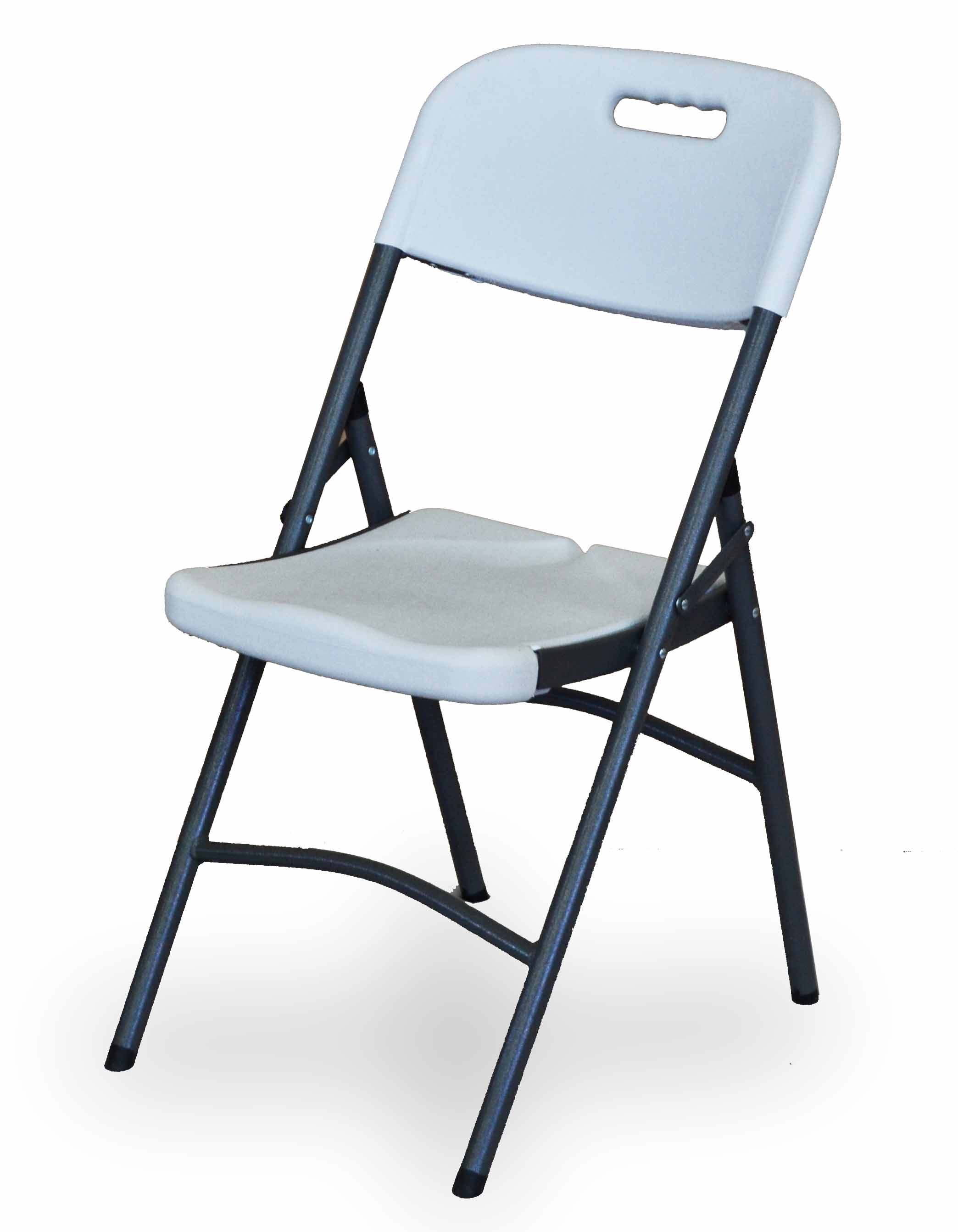 Πτυσσόμενη καρέκλα συνεδριάσεων - εκδηλώσεων   μεταλλικός σκελετός με πλαστικό κάθισμα και πλάτη