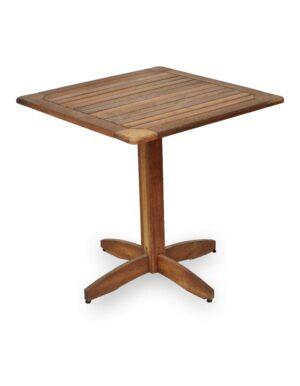 Τραπέζι ξύλινο 70x70
