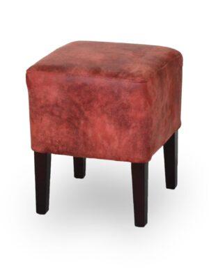 Ξύλινο σκαμπό χαμηλό Στα χρώματα της επιλογής σας Το κάθισμα μπορεί να είναι από δερματίνη ή ύφασμα.